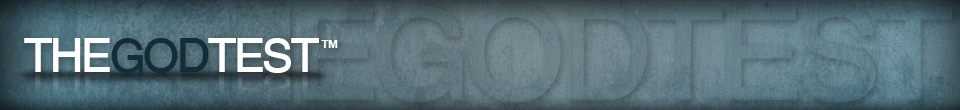 The God Test Banner